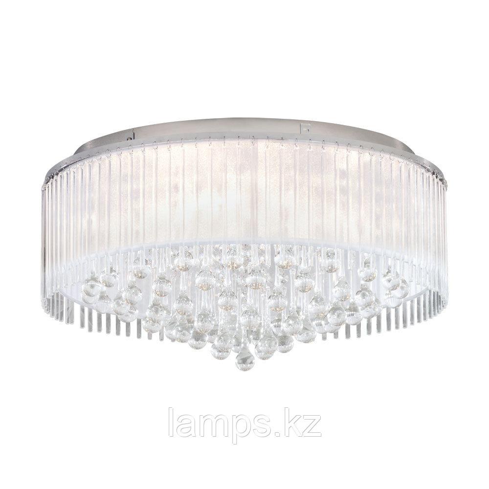 Светильник потолочный MONTESILVANO, сталь, стекло, DL  8, диаметр 590
