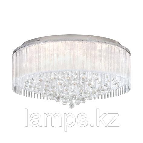 Светильник потолочный MONTESILVANO, сталь, стекло, DL  8, диаметр 590, фото 2
