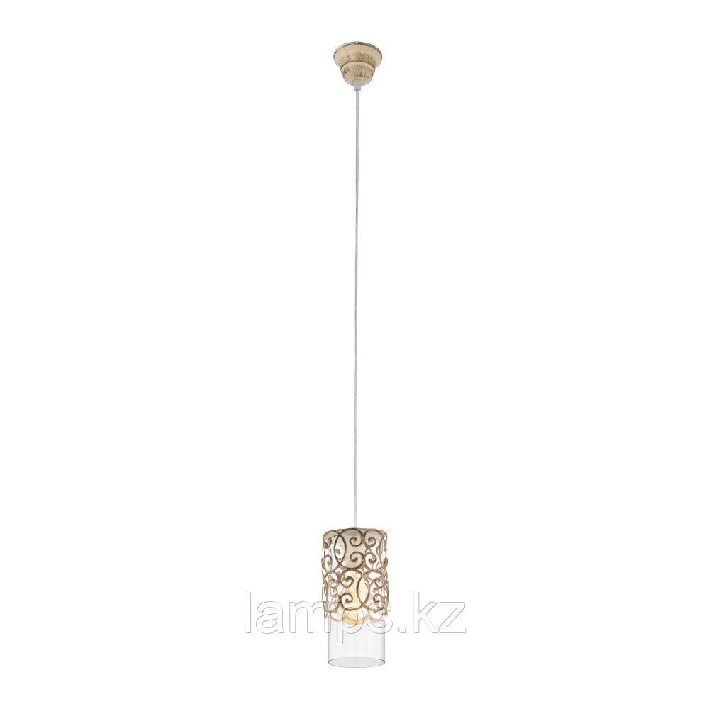 Подвесной светильник HL/1 CARDIGAN E27 1*60W Braun-patina