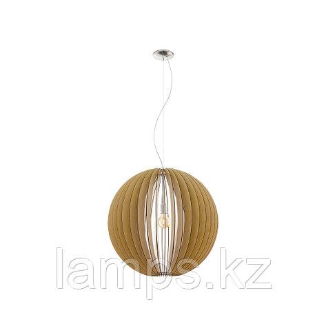 Светильник подвесной COSSANO   E27 1x 60W , фото 2