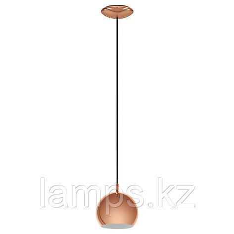 Светильник подвесной PETTO LED  HL  1 GU10 SCHWARZ, сталь, фото 2