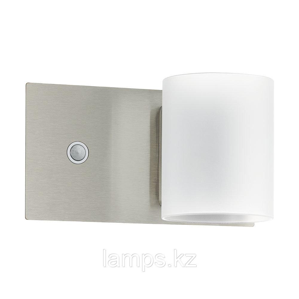 Настенный светильник PACAO, сталь, LED-WL   1 НИКЕЛЬ-M   БЕЛЫЙ