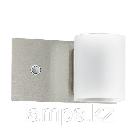 Настенный светильник PACAO, сталь, LED-WL   1 НИКЕЛЬ-M   БЕЛЫЙ, фото 2