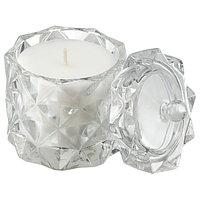 Ароматическая свеча ВИНТЕРФЕСТ Сладкая ваниль 10 см ИКЕА, фото 1