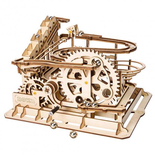 Robotime Деревянный 3D конструктор Водяное колесо