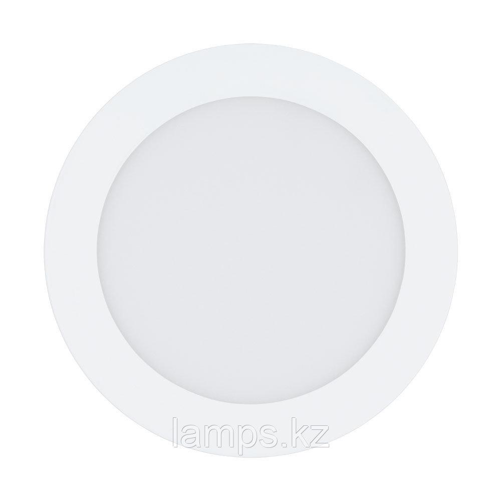 Встраиваемый светильник Eglo  FUEVA 1   LED 10.95W 3000K
