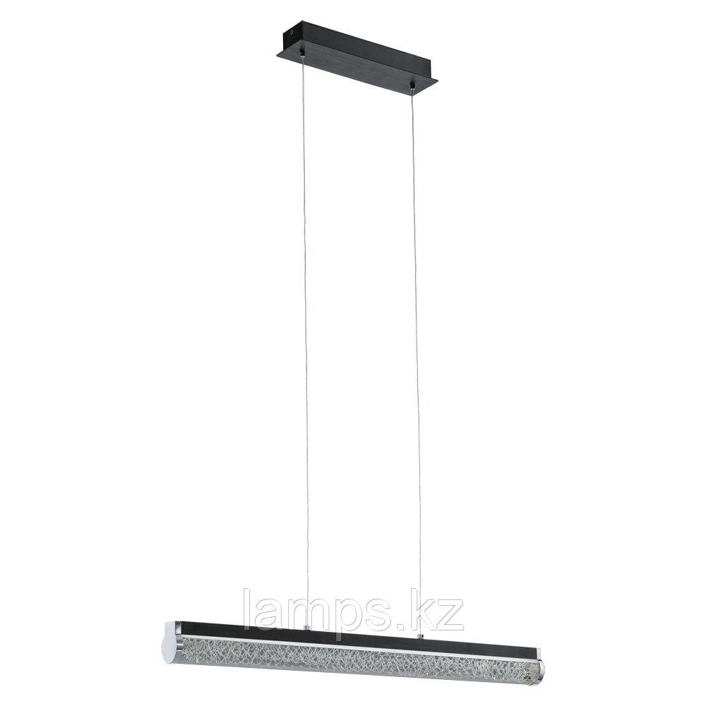 Светильник подвесной  LED black clear sat alu Trevelo