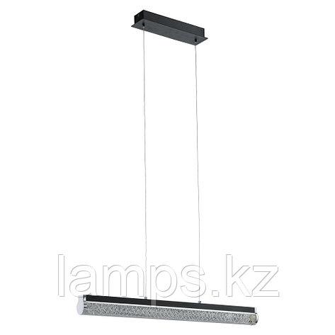 Светильник подвесной  LED black clear sat alu Trevelo, фото 2