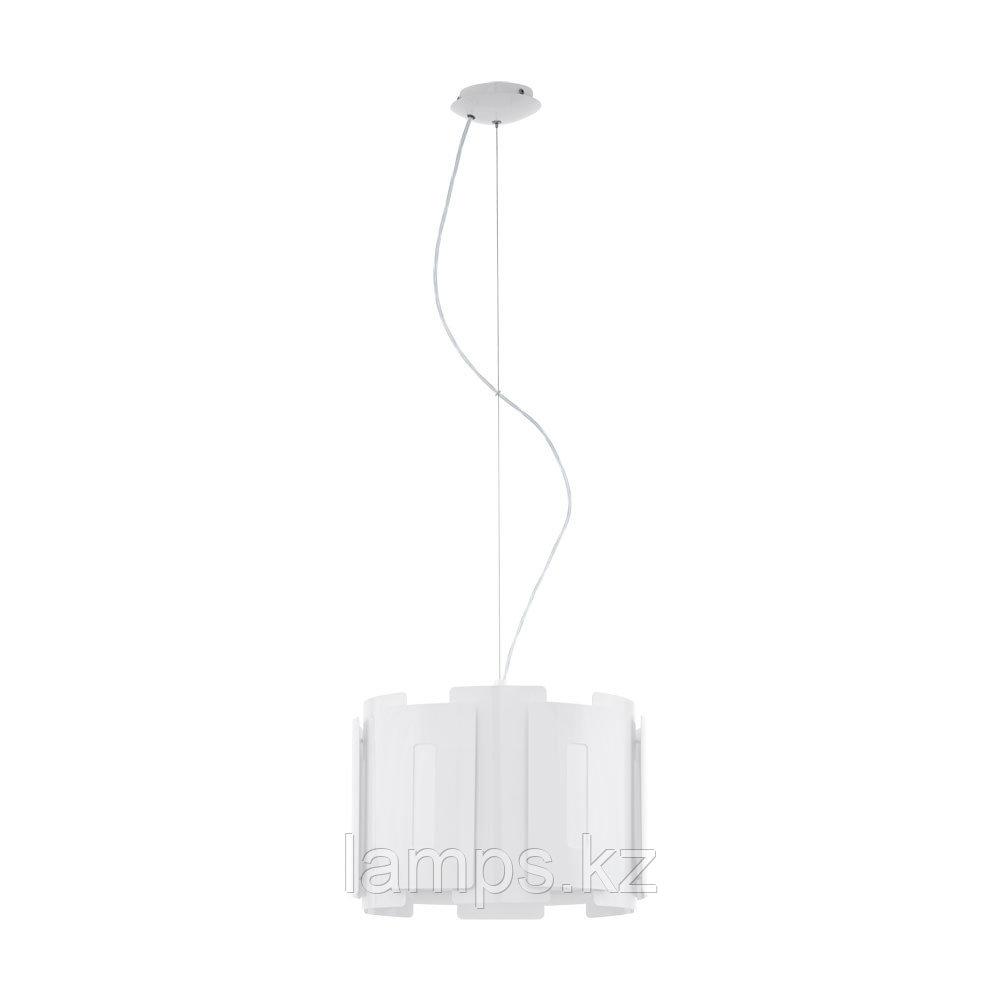 Светильник подвесной  HL  1 E27 white GLZ ESTEPOLA