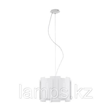 Светильник подвесной  HL  1 E27 white GLZ ESTEPOLA, фото 2