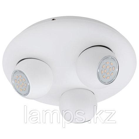 Настенно потолочный светильник/GU10-LED-3x5W/ 'NORBELLO 3', фото 2