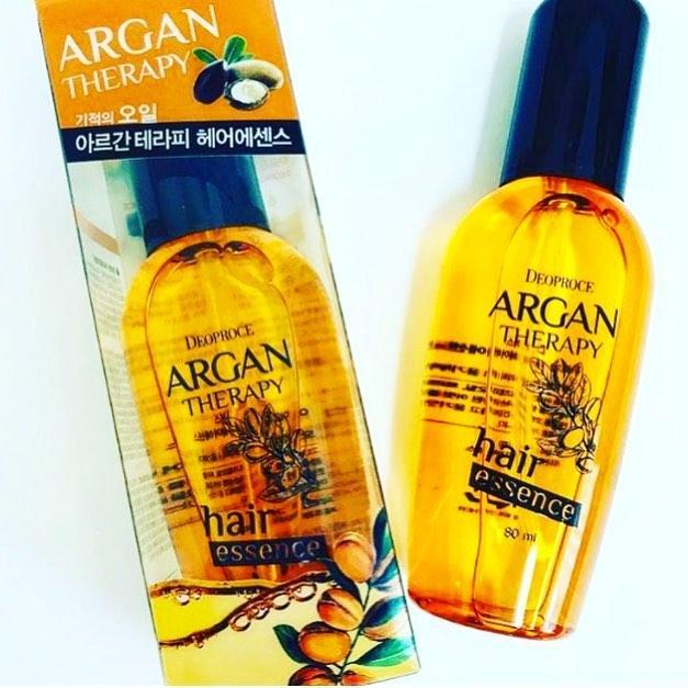 Аргановая эссенция для волос Deoproce Argan Therapy Hair Essence 80 ml.