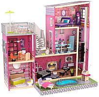 Кукольный домик с мебелью для Барби Kidkraft Роскошная Вилла (65833)