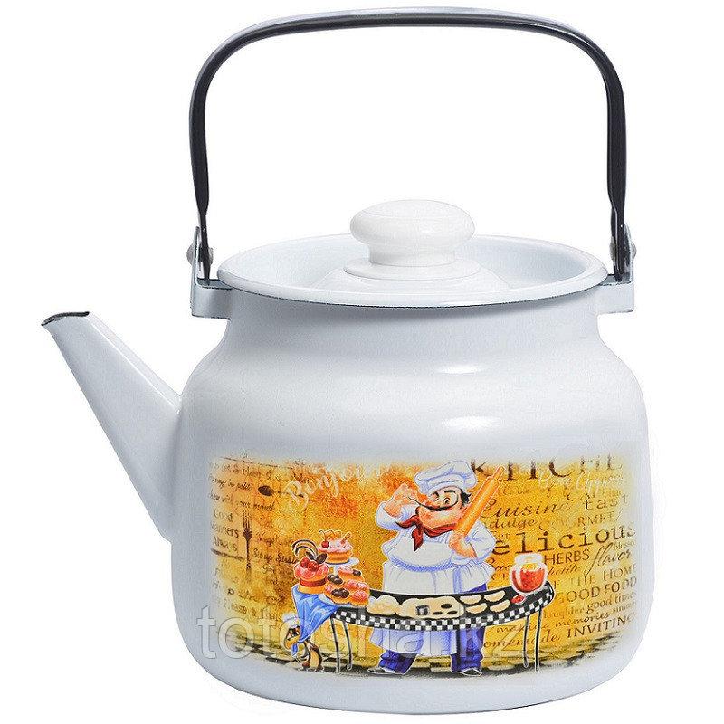 """Чайник 3,5 л """"Кулинар"""" С-2713П2/4Рч"""