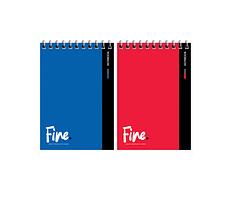 """Записная книжка ArtSpace """"Моноколор. Fine color"""" А6, 80 листов на гребне, клетка"""