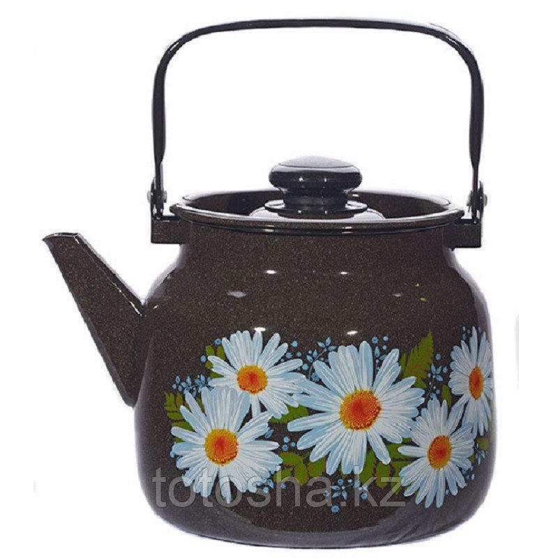 """Чайник 3,5 л """"Ромашки"""" С-2713П2/4РкЭ"""