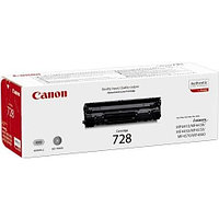 Лазерный картридж Canon 728 (Оригинальный, Черный - Black) 3500B002