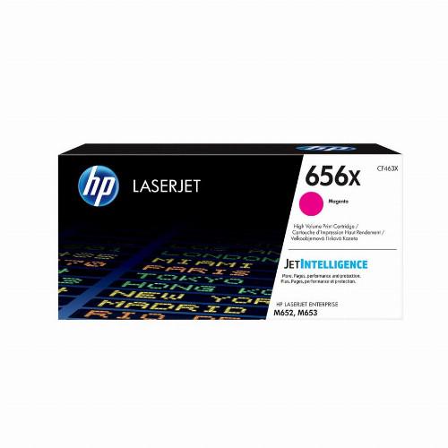 Лазерный картридж HP 656X (Оригинальный, Пурпурный - Magenta) CF463X