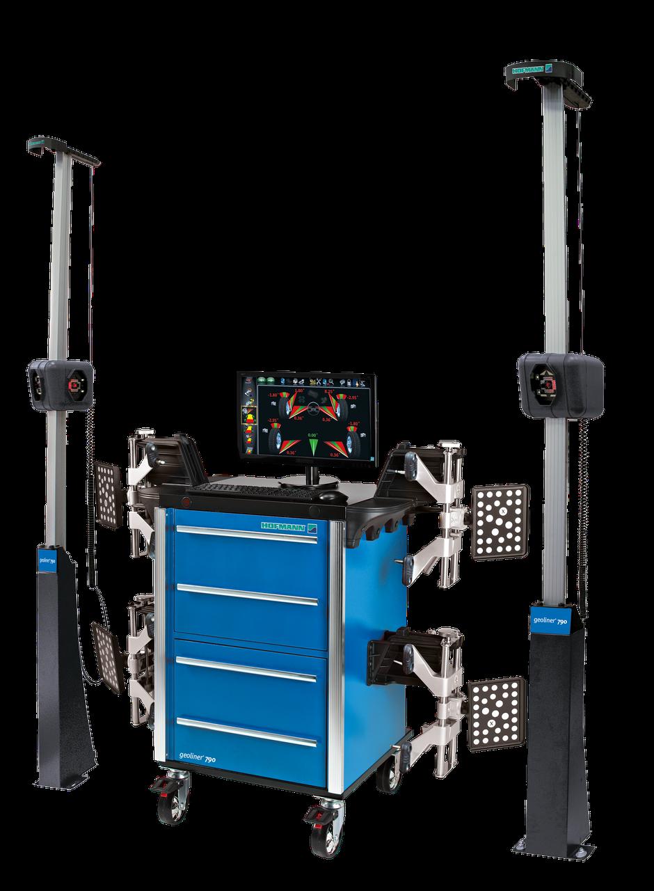 Geoliner 790 AC100 KIT Стенд сход-развал 3D для легковых автомобилей