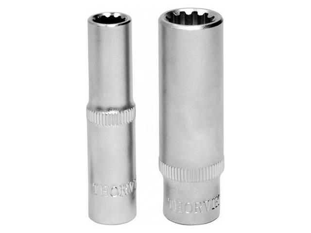 "(MP11411) Головка торцевая глубокая MultiProf  1/4""DR, 11 мм"
