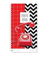 """Телефонная книга ArtSpace """"Телефон"""" А5, 80 листов на гребне, линия"""