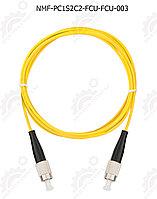 Шнур оптический соединительный, SM 9/125 OS2, FC/UPC-FC/UPC