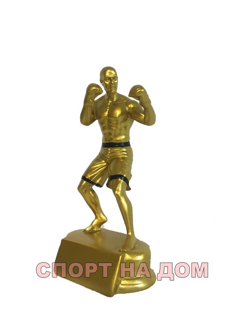 """Статуэтка золото """"Боец MMA"""""""