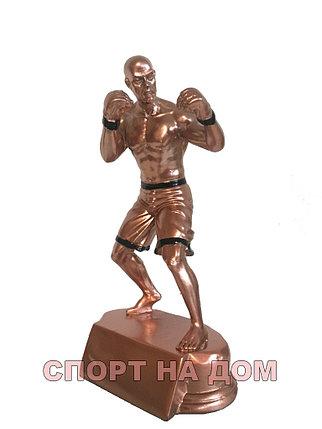 """Статуэтка медная """"Боец MMA"""", фото 2"""
