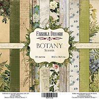 Botany summer - набор двусторонней бумаги 30,5см х 30,5см