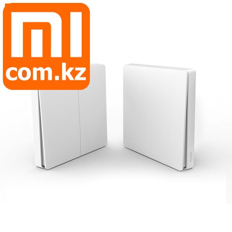 Беспроводной настенный выключатель света Xiaomi Mi Aqara Smart Light Switch dual, двойной, ZigBee.