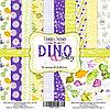 DINO BABY - набор двусторонней бумаги 30,5см х 30,5см