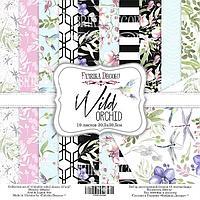 WILD ORCHID - набор двусторонней бумаги 30,5см х 30,5см, фото 1