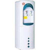 Кулер для воды Aqua Work 16LW/HLN, бело-синий, без нагрева и охл. (310х310х960 мм, 2 краника)