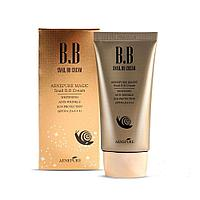 Увлажняющий bb крем с экстрактом улитки AENEPURE Snail BB Cream