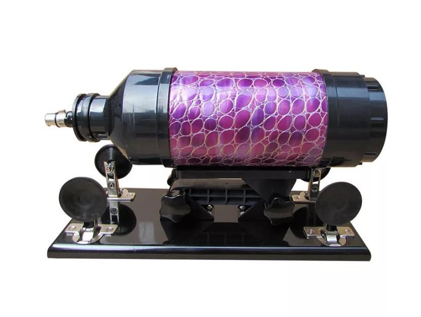Секс-машина Machina Gun фиолетовая кожа