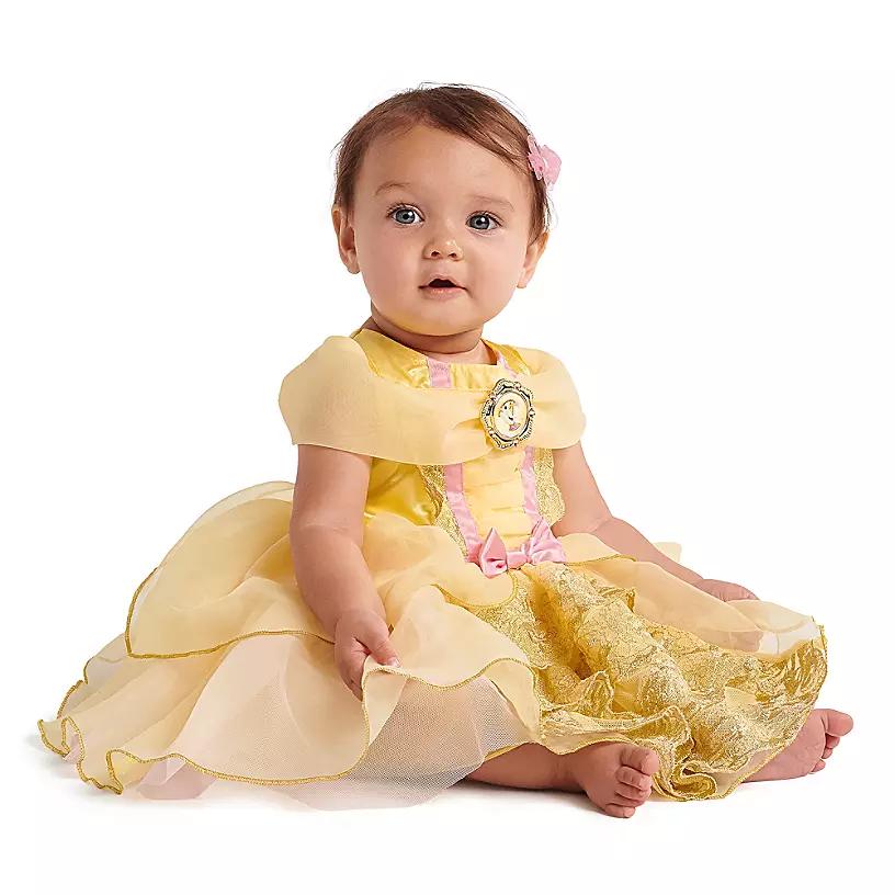 Новогоднее платье Белль для малышек