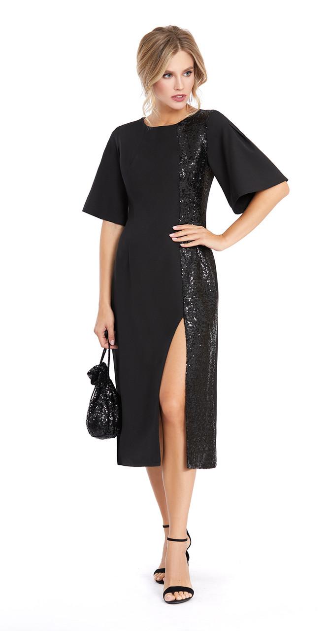 Платье PiRS-890, черный, 42