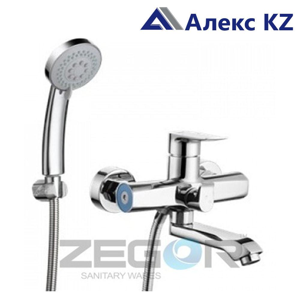 Смеситель ZEGOR NOG3-A134 одноручный для ванны, с поворотным зливом