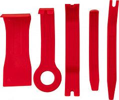 Набор приспособлений для демонтажа декоративных панелей салона автомобиля, 5 предметов AURTS5