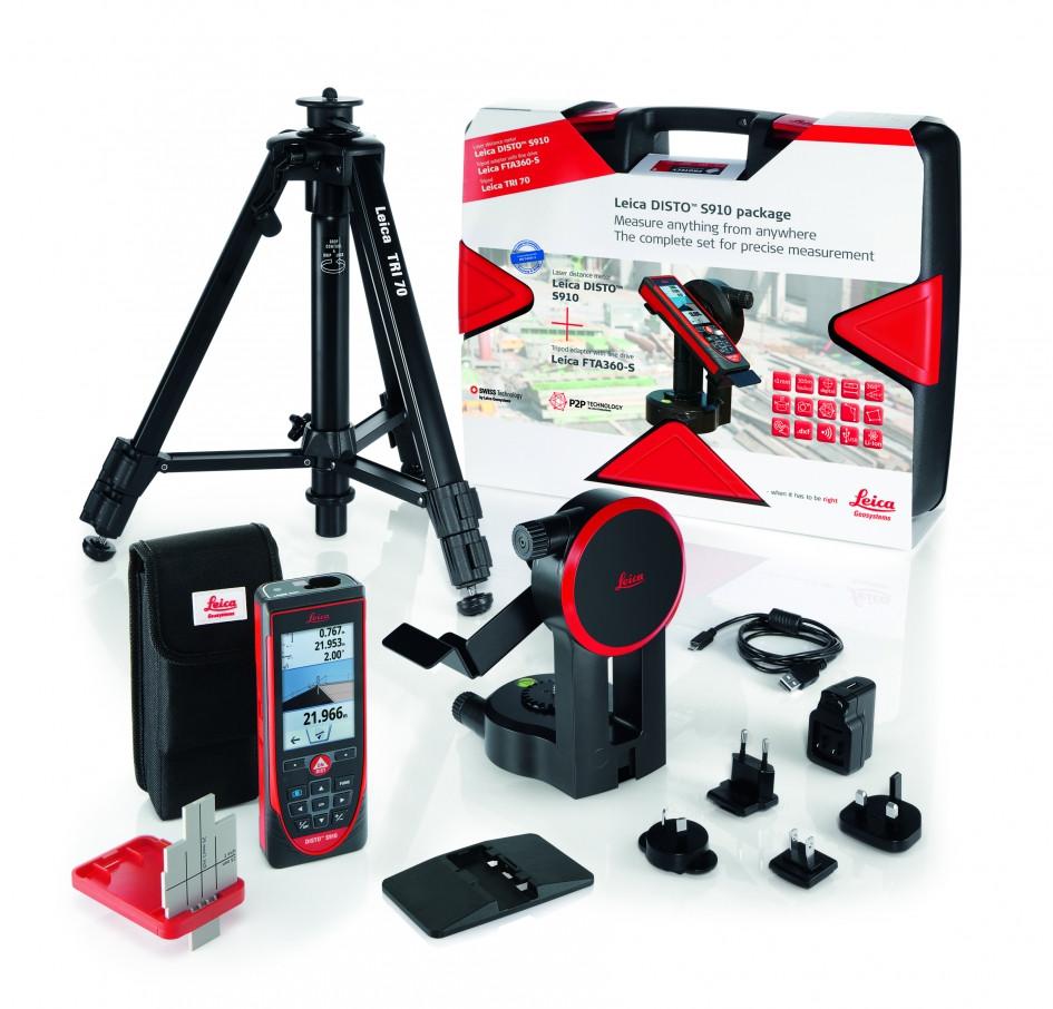 Лазерный дальномер Leica DISTO S910 Комплект