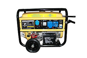 Бензиновый генератор Mateus 6,5 GFE+ATS