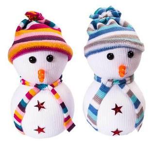 Кукла «Рождественский снеговик»