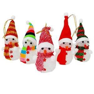 Сувенир новогодний «Светящийся снеговик»