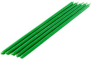 Свечи магические зелёные