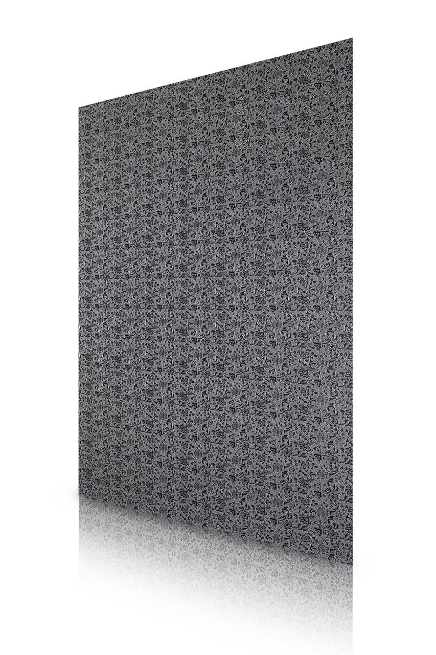 Кожаные панели 2D ЭЛЕГАНТ, East Серебро, 1200х2700 мм Казахстан - фото 2