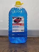 Жидкость стеклоомывающая, низкозамерзающая, 4,5 литра (Незамерзайка) ICE DRIVER