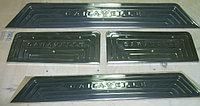"""Накладки на дверные пороги, нерж, 4 части VW T5 Caravelle """"03-/""""10-"""