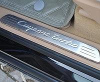 """Накладки на дверные пороги PORSCHE Cayenne """"10-"""