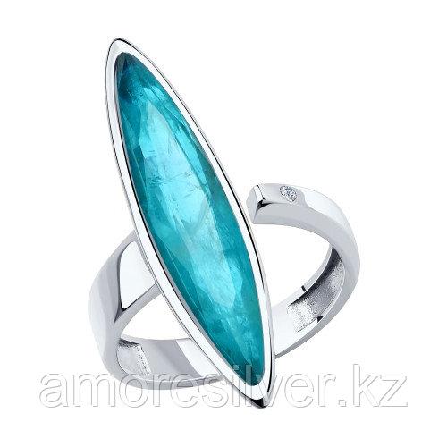 Серебряное кольцо с фианитом Diamant 18,5 DIAMANT (SOKOLOV) 94-110-00523-2 размеры - 17,5