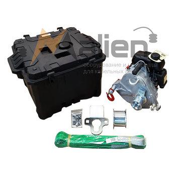 Лебедка бензиновая портативная Portable Winch PCW-5000 до 1000 кг (комплектация MAX)
